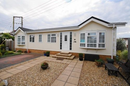 2 bed detached house for sale in Pinehurst Park, West Moors, Ferndown