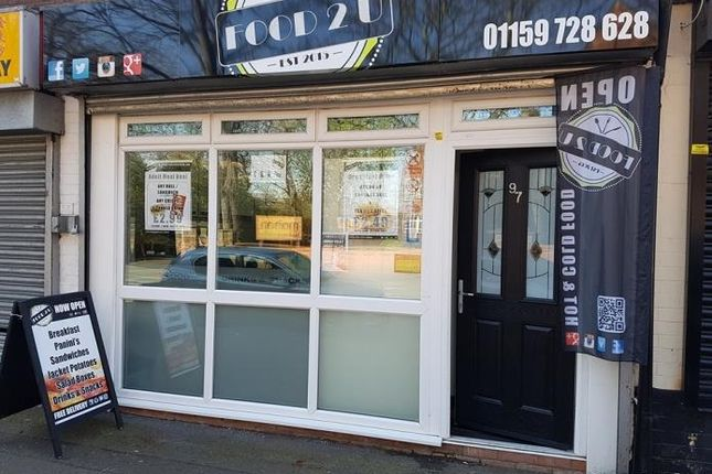 Thumbnail Retail premises for sale in Tamworth Road, Long Eaton, Nottingham
