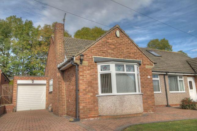 Thumbnail Bungalow for sale in Woodlands, Throckley, Newcastle Upon Tyne