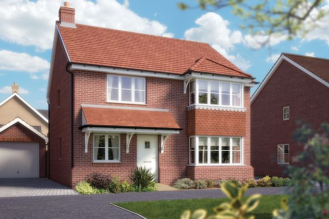 "Thumbnail Detached house for sale in ""The Canterbury"" at Fullingpits Avenue, Maidstone"