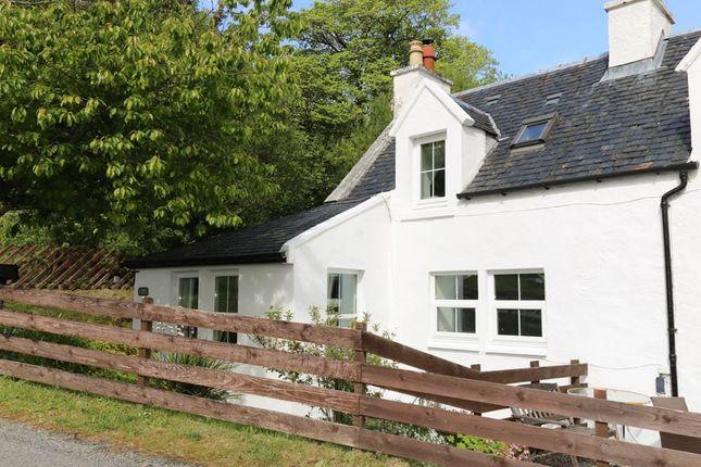 Thumbnail Semi-detached house for sale in Skeabost Bridge, Portree