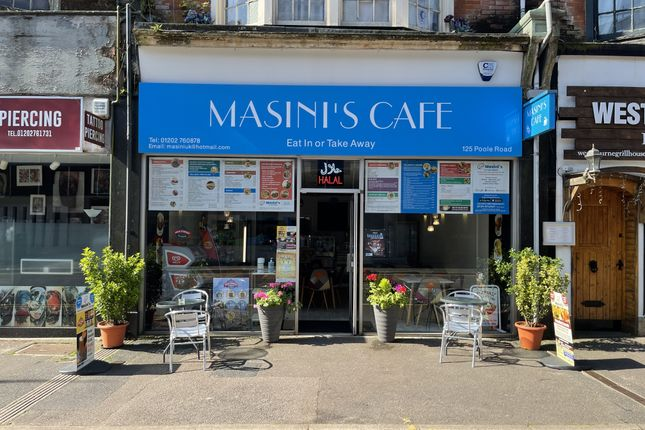 Thumbnail Retail premises to let in 125 Poole Road, Westbourne, Bournemouth