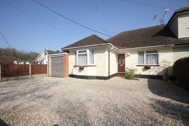 Thumbnail Semi-detached bungalow for sale in Mount Crescent, Hockley