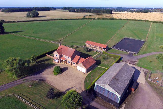 Thumbnail Farm for sale in Hannover Farm, Hale Road, Holme Hale
