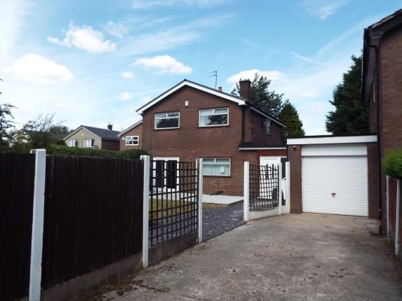 Thumbnail Link-detached house for sale in Boardman Fold Close, Middleton, Manchester, Greater Manchester