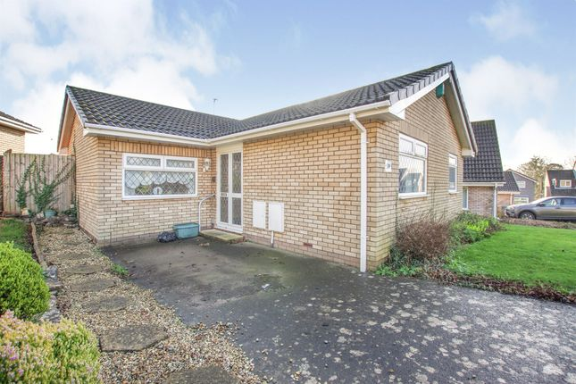 Thumbnail Detached bungalow for sale in Keteringham Close, Sully, Penarth