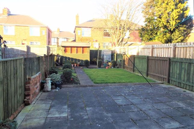 Rear Garden of Coldstream Gardens, Wallsend NE28