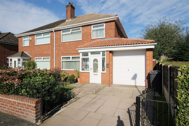 Thumbnail Semi-detached house for sale in Capesthorne Road, Warrington