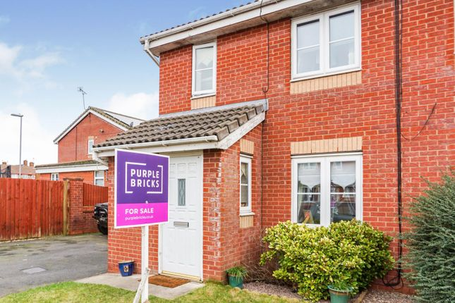 Thumbnail Semi-detached house for sale in Linton Place, Kirkby