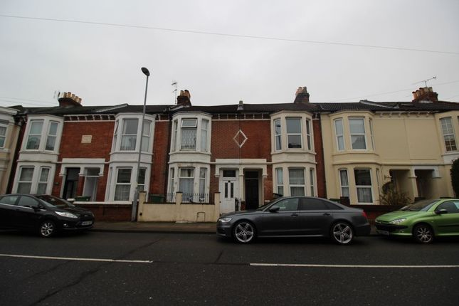 Thumbnail Terraced house to rent in Lawrence Road, Southsea