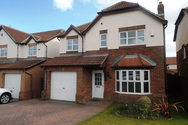 Thumbnail Detached house for sale in Hillview Grove, Easington Colliery, Peterlee