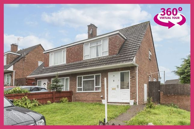 Thumbnail Semi-detached house for sale in Robertson Way, Newport