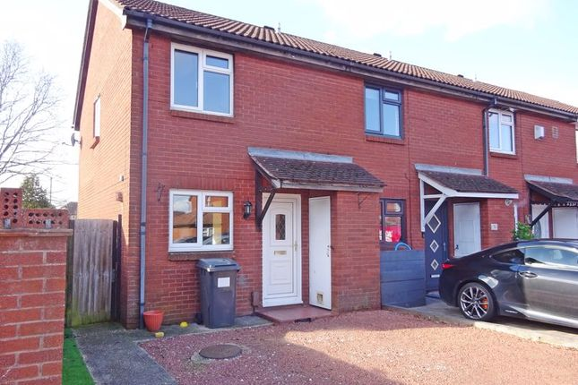 Thumbnail Property for sale in End Of Terrace House. Chickerell Close, Muscliff, Bournemouth
