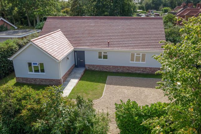 Thumbnail Detached bungalow for sale in The Broadway, Badwell Ash, Bury St. Edmunds