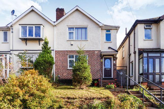 Thumbnail Semi-detached house for sale in Slade Road, Birmingham
