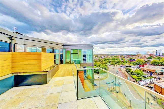 Thumbnail Flat for sale in The Quarter Penthouses, Battersea Reach, London