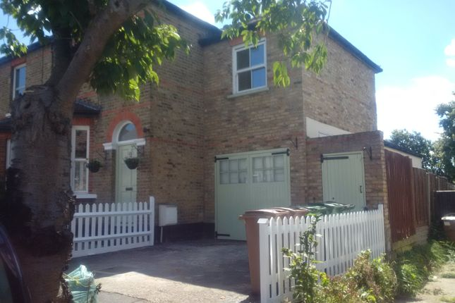 Thumbnail Semi-detached house to rent in Hampton Road, Worcester Park