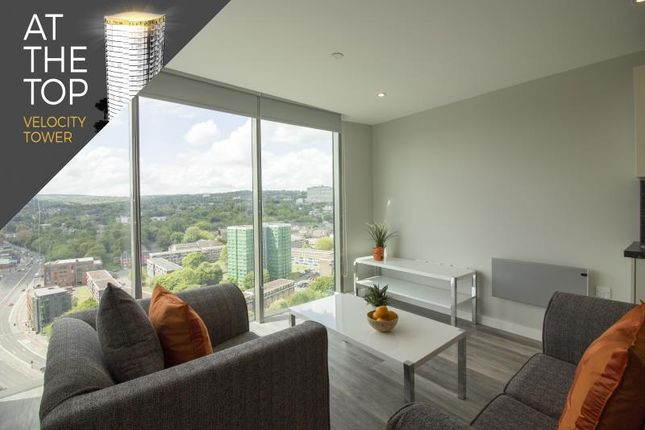 Thumbnail Flat to rent in Velocity Tower, St. Mary's Gate, Sheffield