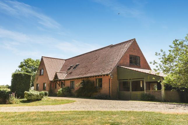 Thumbnail Detached house for sale in Heydon, Norwich