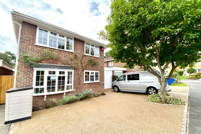 Thumbnail Detached house for sale in Harebell Close, Hartley Wintney, Hook
