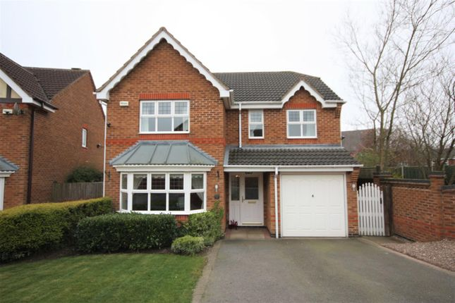 Thumbnail Detached house for sale in Clarence Drive, Coalville