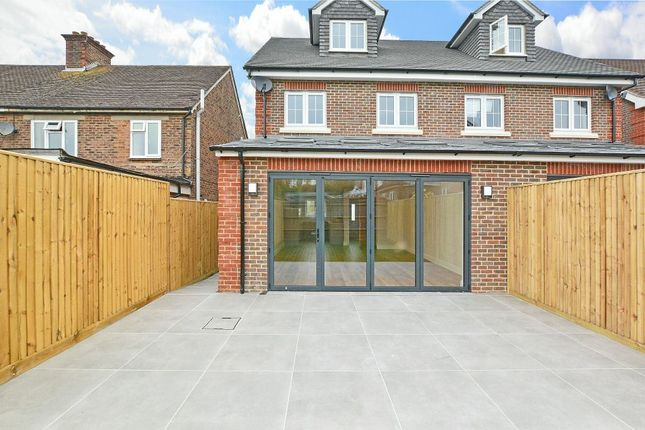 Thumbnail Semi-detached house for sale in Crawley Road, Horsham