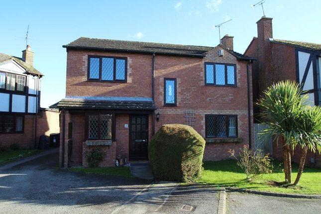 Thumbnail Detached house for sale in Askew Close, Grange Park, Swindon