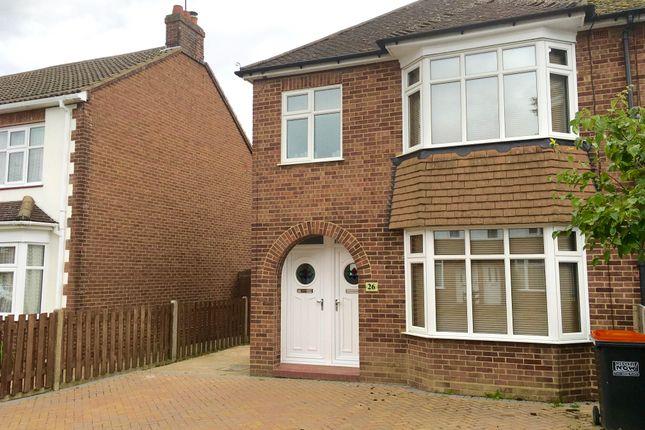 Thumbnail Maisonette to rent in Douglas Crescent, Houghton Regis, Dunstable