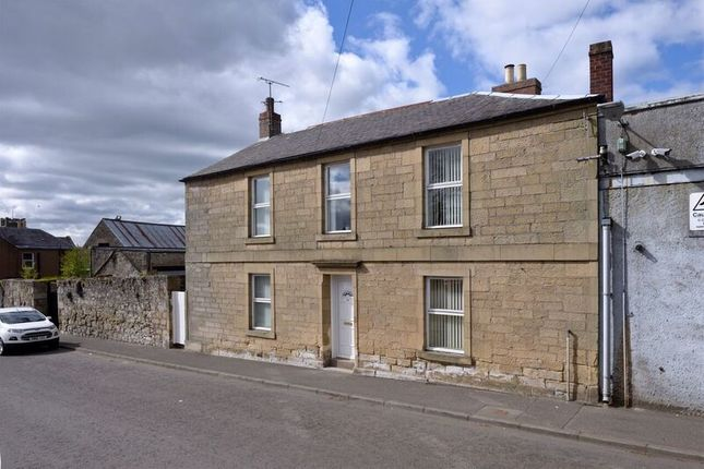 Thumbnail End terrace house for sale in Duns Road, Coldstream