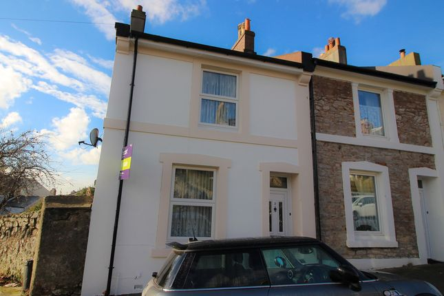 Thumbnail End terrace house for sale in Highbury Road, Torquay