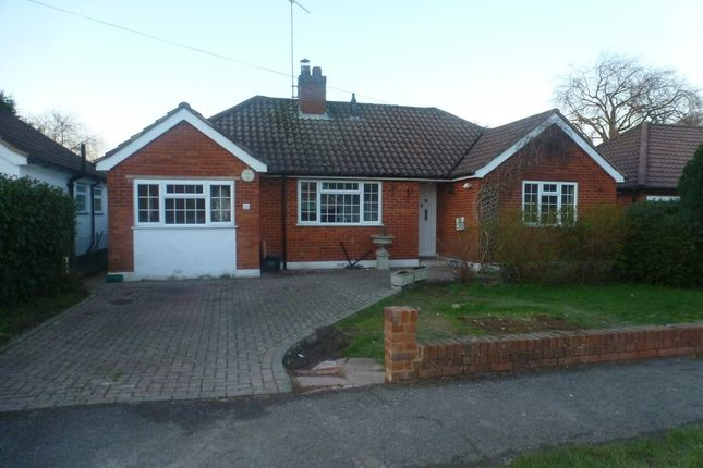 Thumbnail Detached bungalow to rent in Cheyne Walk, Horley