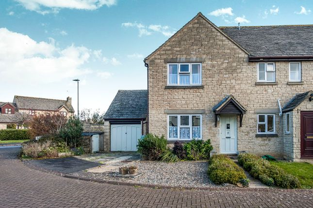 Thumbnail End terrace house for sale in Barker Place, Fairford