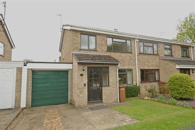 Thumbnail Semi-detached house to rent in Francis Dickins Close, Wollaston, Wellingborough