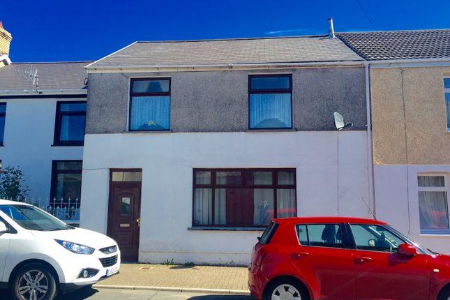 Thumbnail End terrace house to rent in Castle Street, Maesteg
