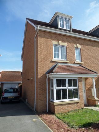 Thumbnail Semi-detached house for sale in Sargeson Road, Armthorpe, Doncaster