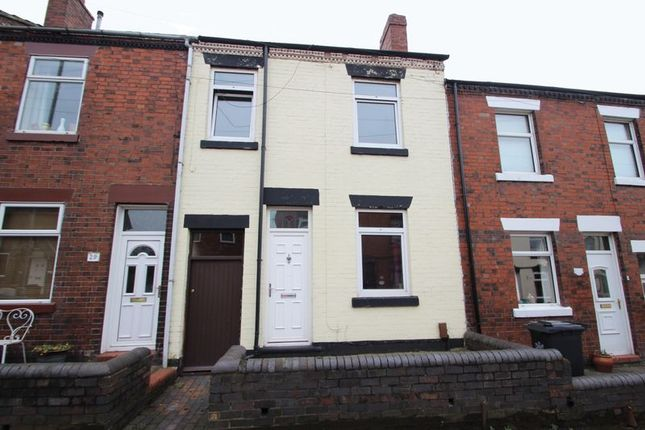 Terraced house for sale in Apedale Road, Newcastle-Under-Lyme