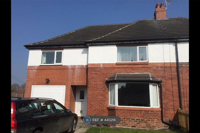 Thumbnail Semi-detached house to rent in Ainsty Drive, Wetherby