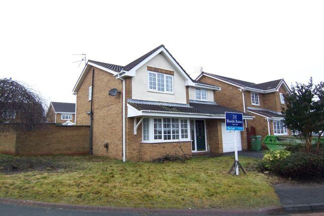 Thumbnail Detached house to rent in Brennan Close, Ashington