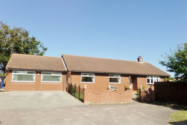 Thumbnail Detached bungalow for sale in Rectory Close, Caister-On-Sea
