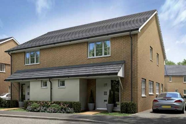 Thumbnail Semi-detached house for sale in Plot 97, The Knighton, Priors Hall Park