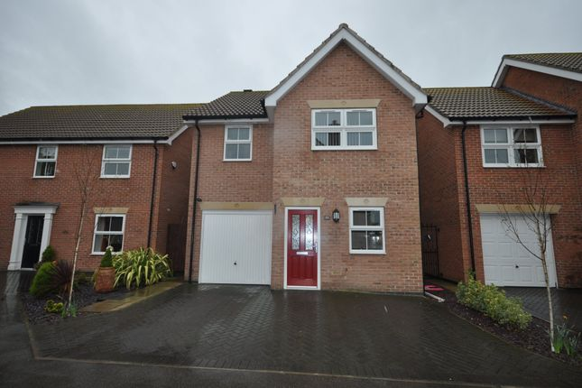 Thumbnail Detached house to rent in Captains Close, Goole