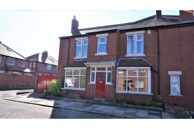 Thumbnail 3 bed terraced house for sale in Woodthorne Road, Newcastle Upon Tyne