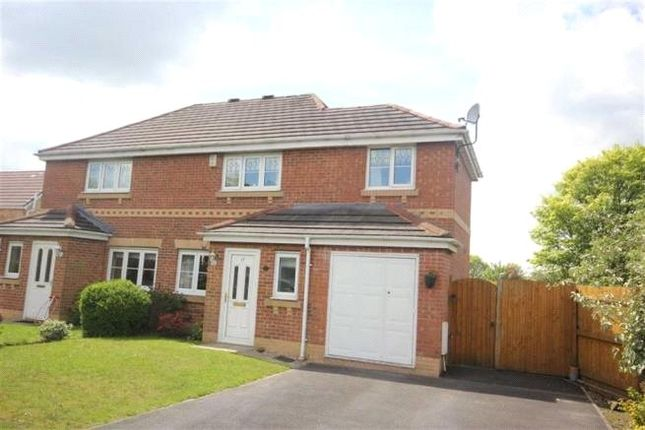 Thumbnail Semi-detached house for sale in Crossbrook Way, Milnrow, Rochdale