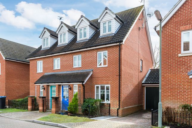 4 bed semi-detached house for sale in Knights Mead, Lingfield, Surrey