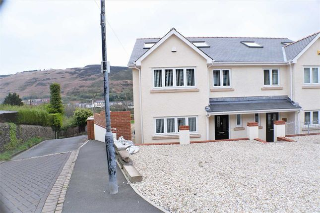 Thumbnail Semi-detached house for sale in Library House, 6 Institute Place, Tonypandy