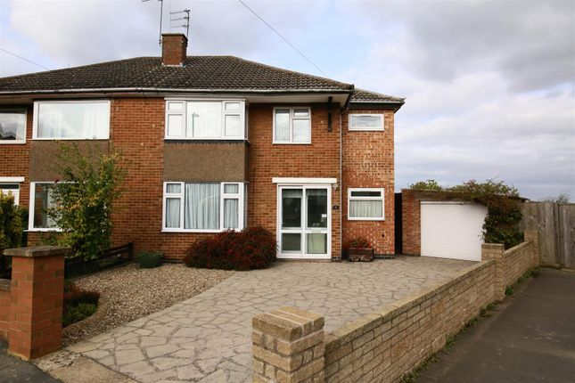 Thumbnail Semi-detached house for sale in Rathbone Close, Hillmorton, Rugby