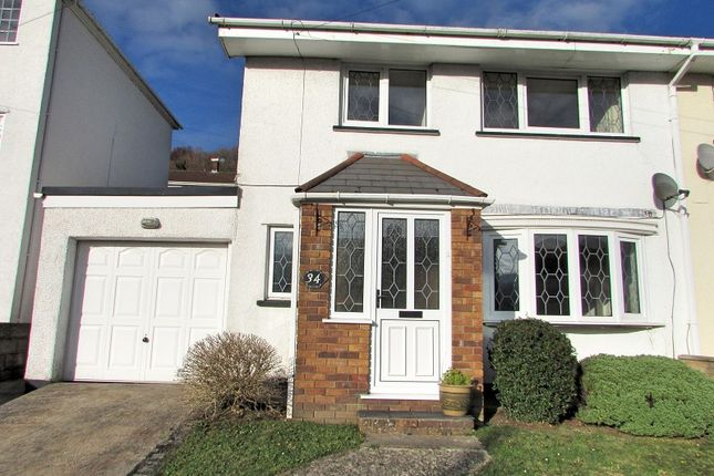 Thumbnail Semi-detached house for sale in Hays Crescent, Glynneath, Neath, Neath Port Talbot.