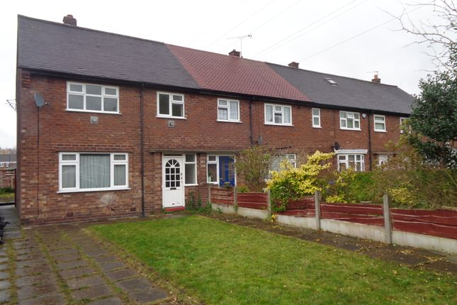 Thumbnail End terrace house to rent in Davies Road, Partington