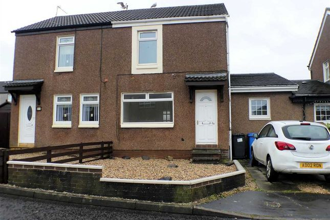 Thumbnail Semi-detached house for sale in Craigspark, Ardrossan, Ardrossan