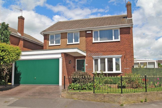 Thumbnail Detached house for sale in Greendale Road, Arnold, Nottingham